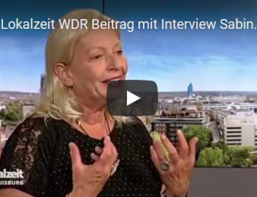 Interview mit Sabine Kraft in der WDR Lokalzeit