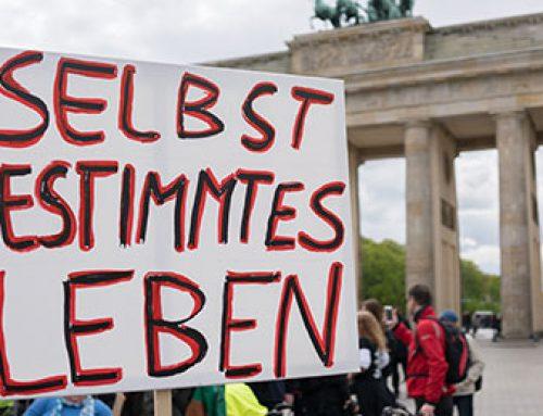 Europäischer Protesttag am 5. Mai – Protest gegen die Barriere im Kopf